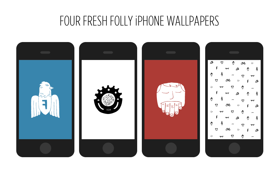 four fresh folly iphone wallpapers