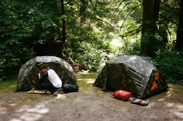 Girl x Poler Tent
